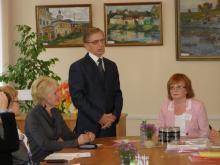 Приветственное слово председателя Совета Торжокской городской Думы Б.Н. Добродумова