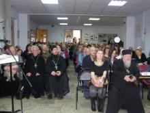 На вечере памяти протоиерея Леонида Новикова