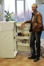 Посетитель библиотеки